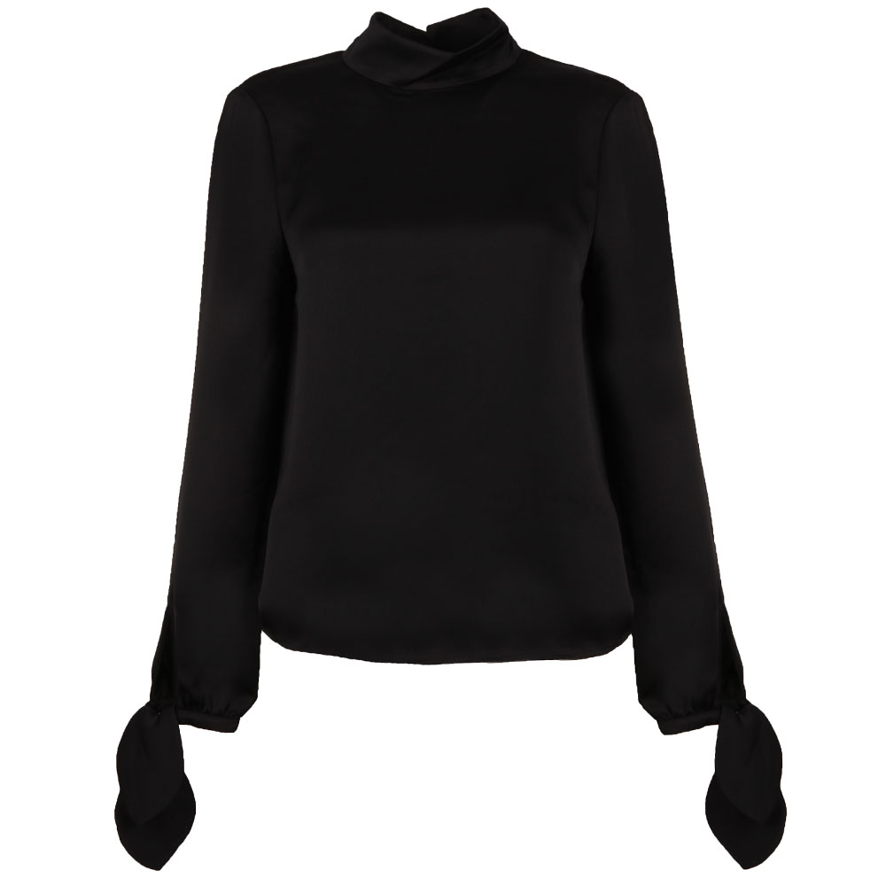 Belare High Neck Sleeve Tie Top main image