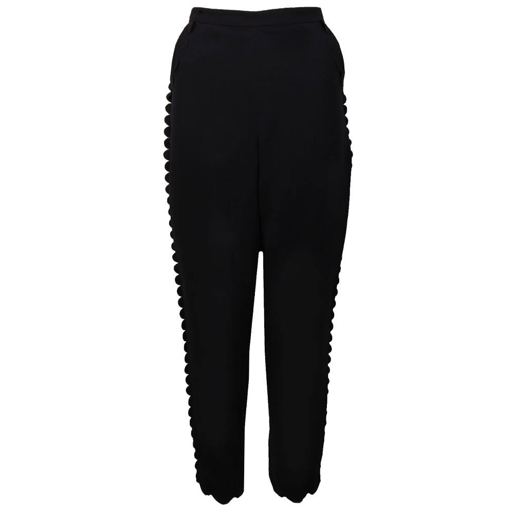 Dyanni Jogger With Scallop Hem main image