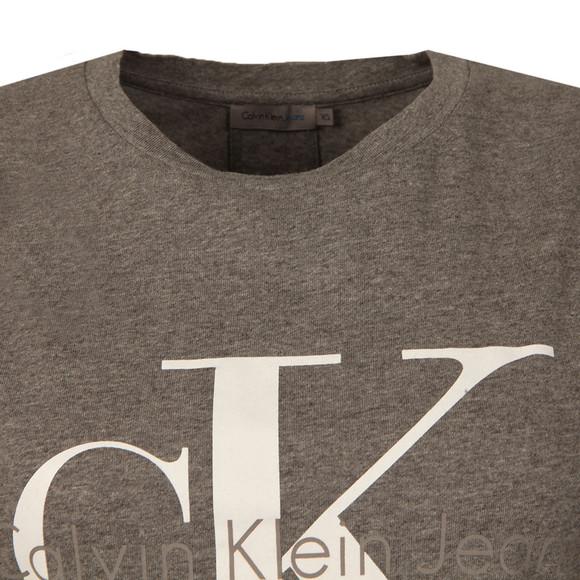 Calvin Klein Womens Grey Shrunken T Shirt main image