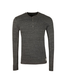 PS by Paul Smith Mens Grey L/S Henley Tee