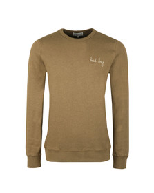Maison Labiche Mens Green Bad Boy Sweatshirt