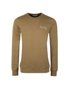 Maison Labiche Mens Green Bad Boy Sweatshirt