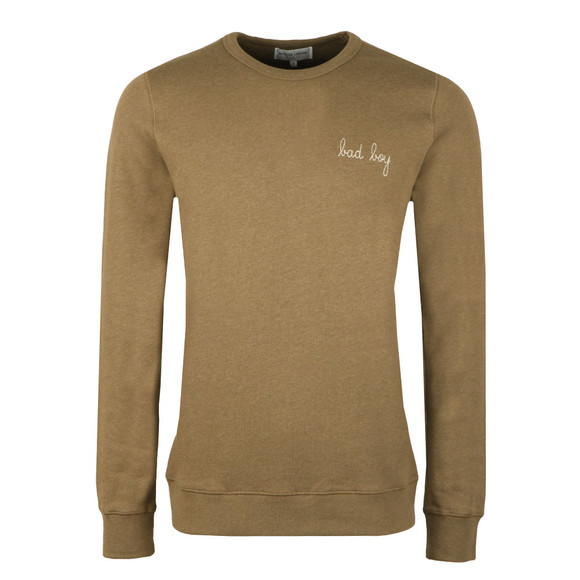 Maison Labiche Mens Green Bad Boy Sweatshirt main image