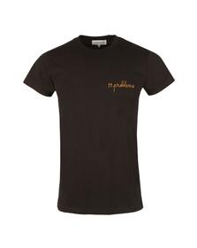 Maison Labiche Mens Black 99 Problems Heavy T Shirt