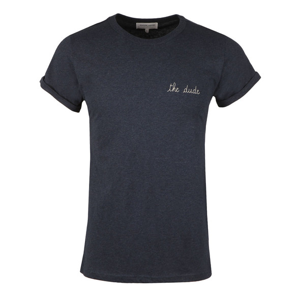 Maison Labiche Mens Blue The Dude T Shirt main image