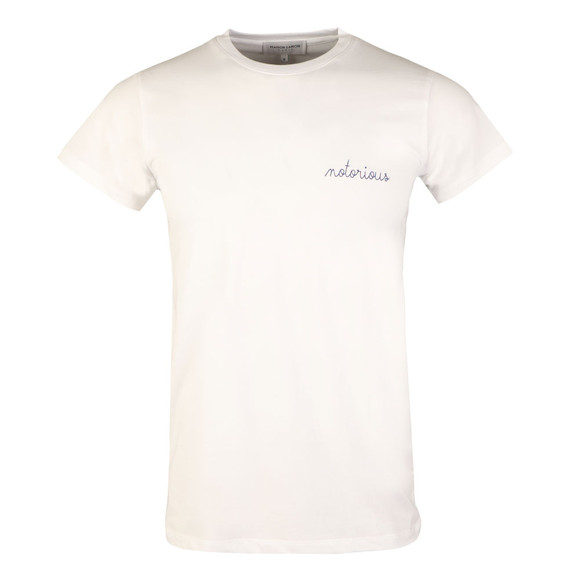 Maison Labiche Mens White Notorious Heavy T Shirt main image