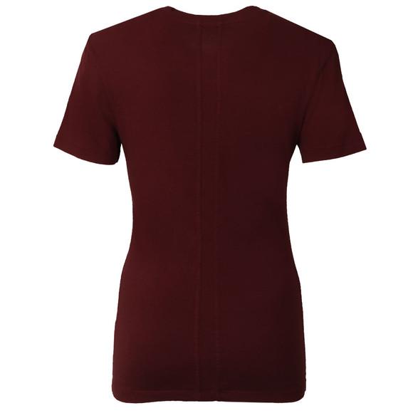 Calvin Klein Womens Red Shrunken T Shirt main image