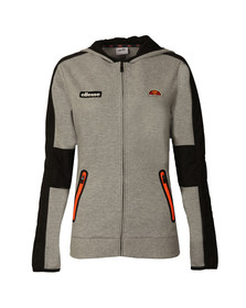Ellesse Womens Grey Alalunga Full Zip Hoody