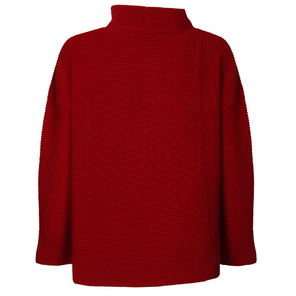 French Connection Womens Red Sunday Mozart High Neck Jumper  main image