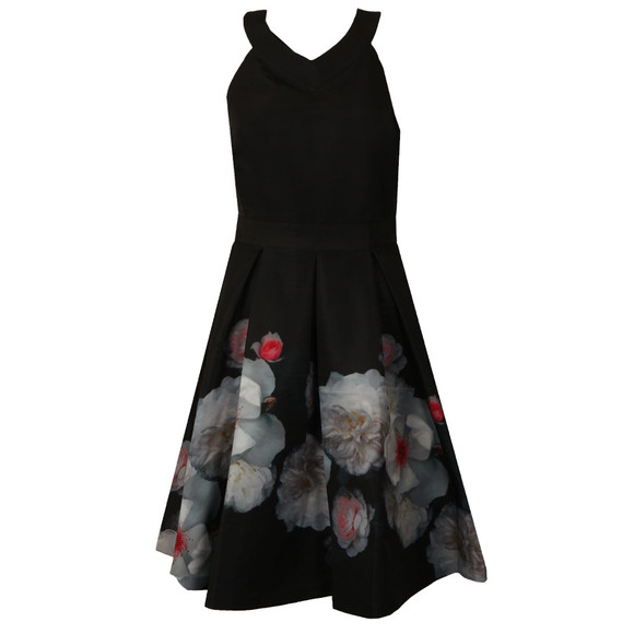 Ted Baker Womens Black Jelina Chelsea Full Skirt Dress main image