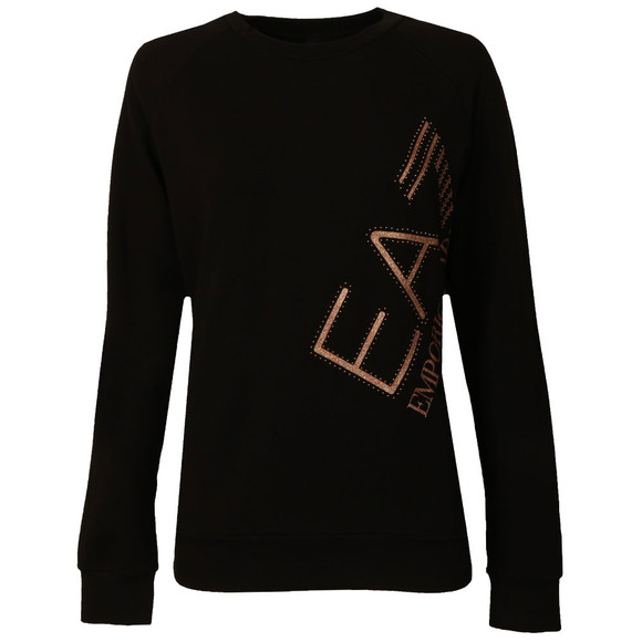 EA7 Emporio Armani Womens Black 6YTM24 Sweatshirt main image