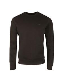 Armani Jeans Mens Black 8N6M19 Crew Neck Sweatshirt