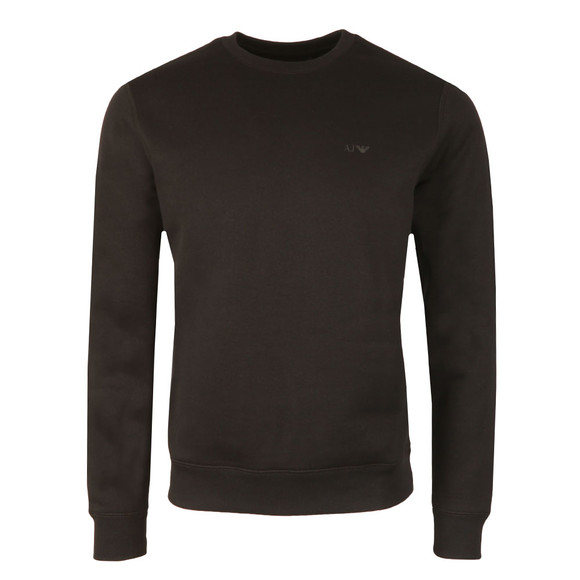 Armani Jeans Mens Black 8N6M19 Crew Neck Sweatshirt main image