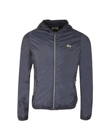 Lacoste Sport Mens Blue BH8136 Hooded Jacket