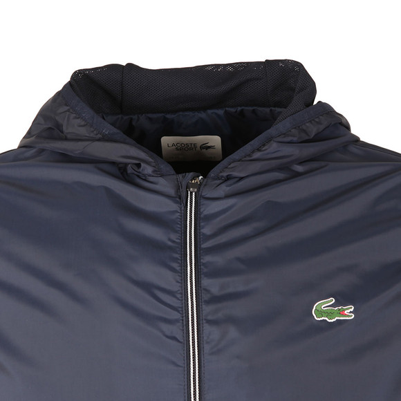 Lacoste Sport Mens Blue BH8136 Hooded Jacket main image