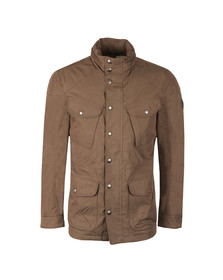 Hackett Mens Brown Velospeed Jacket