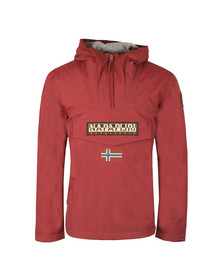 Napapijri Mens Red Rainforest Winter Jacket