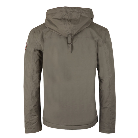 Napapijri Mens Grey Rainforest Winter Jacket main image