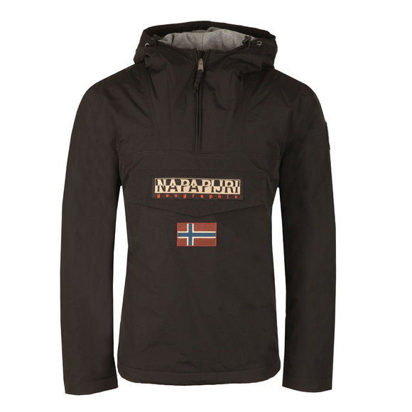 Napapijri Mens Black Rainforest Winter Jacket main image