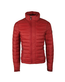 Superdry Mens Red SDX Fuji Zip Through Jacket