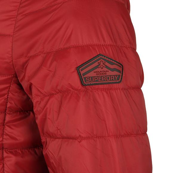 Superdry Mens Red SDX Fuji Zip Through Jacket main image