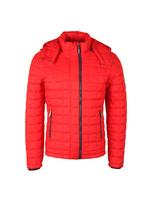 Box Quilt Fuji Hood Jacket