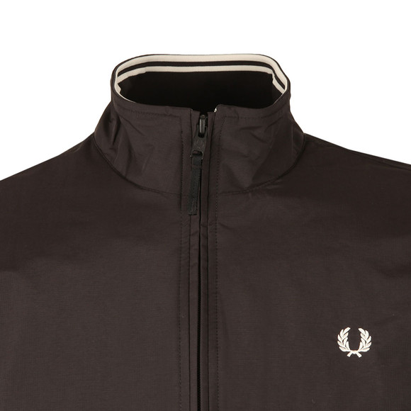 Fred Perry Mens Black Brentham Jacket main image