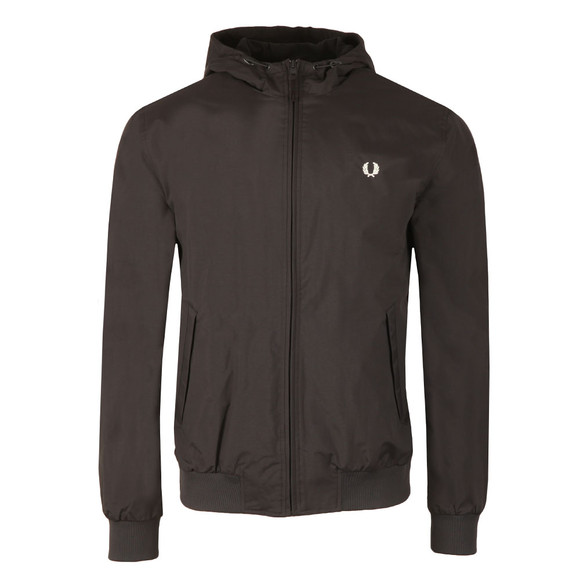 Fred Perry Mens Blue Hooded Brentham Jacket main image