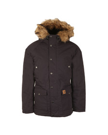 Carhartt Mens Blue Trapper Parka