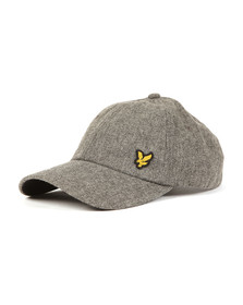 Lyle and Scott Mens Grey Woollen Cap
