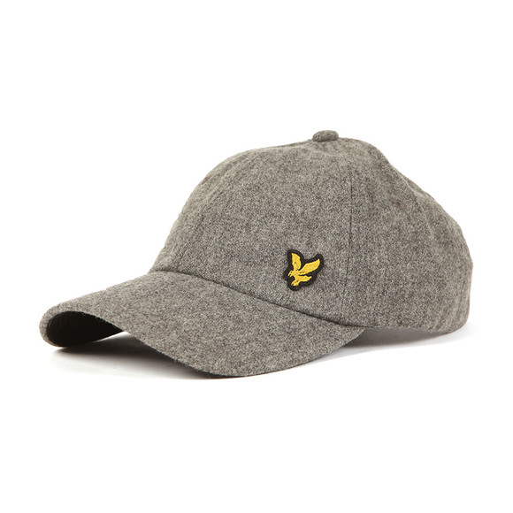 Lyle and Scott Mens Grey Woollen Cap main image