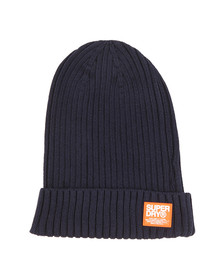 Superdry Mens Blue Wiseman Beanie