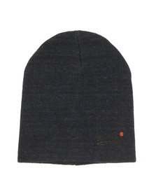 Superdry Mens Blue Basic Beanie