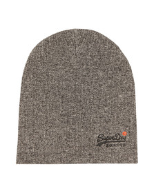 Superdry Mens Grey Basic Beanie