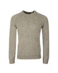 Levi's Mens Grey Hayes Crew Jumper