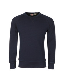 Levi's Mens Blue Crew 3 Sweat