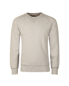 Levi's Mens Grey Crew 3 Sweat
