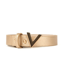 Valentino by Mario Womens Gold Divina Belt