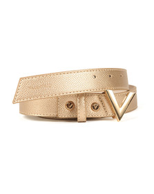 Valentino by Mario Womens Gold Divina Belt