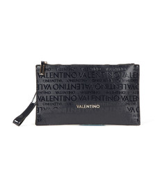 Valentino by Mario Womens Blue Clove Clutch Bag