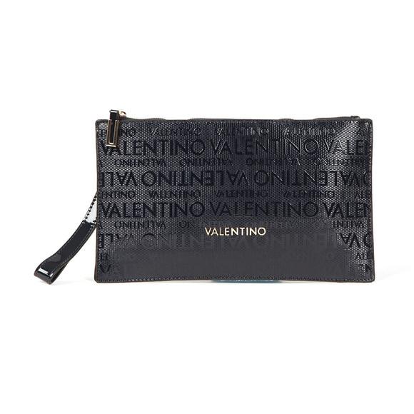 Valentino by Mario Womens Blue Clove Clutch Bag main image