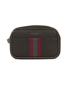 Ted Baker Mens Black Webbing Washbag