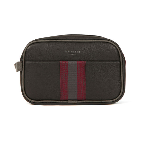 Ted Baker Mens Black Webbing Washbag main image