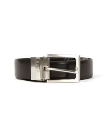 Luke Mens Black Mind Changer Reversible Belt