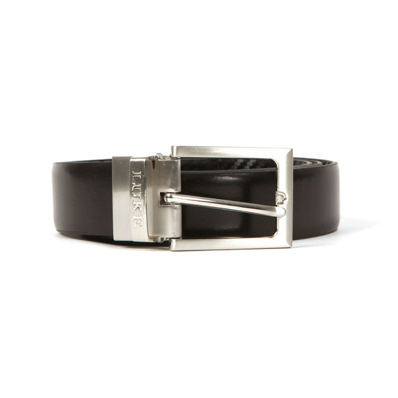 Luke Mens Black Mind Changer Reversible Belt main image