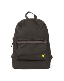 Lyle and Scott Mens Black Colour Pop Rucksack