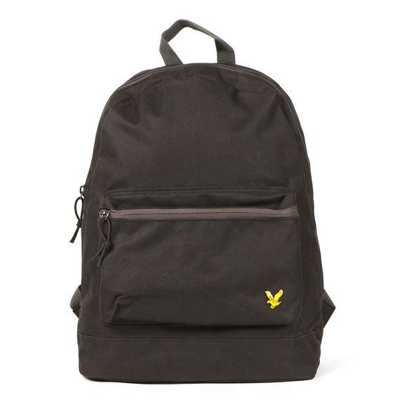 Lyle and Scott Mens Black Colour Pop Rucksack main image