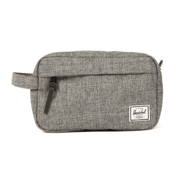 Herschel Mens Black Chapter Wash Bag main image