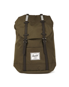 Herschel Mens Green Retreat Backpack
