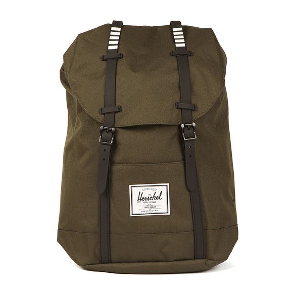 Herschel Mens Green Retreat Backpack main image